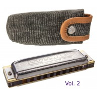 Hohner Collector's Edition Remaster Vol. 2 German Diatonic Harmonica in Key