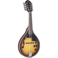 Oscar Schmidt Model OM10ETS-O A Style Sunburst Acoustic Electric Mandolin -