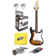 Effin Guitars Effin Start/SB Electric Guitar w/Effin Tuner + More
