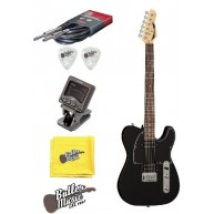Dean NV CBK NashVegas Tele Style Electric Guitar with Clip-on Tuner + Bundl