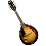 Oscar Schmidt OM10ETSLH Lefty A-Style Acoustic/Electric Sunburst Mandolin -