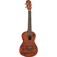 Oscar Schmidt Model OU300TF Flame Mahogany Tenor Size 4 String Acoustic Uku
