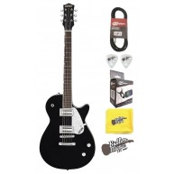 Gretsch G5425 Electromatic Jet Club Black Gloss Electric Guitar w/Tuner and