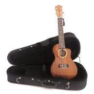 Lanikai MAS-CEC Solid Mahogany Electric Acoustic Cutaway Concert Ukulele w/