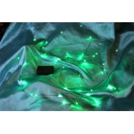 MBT Model LEDSTRINGG 12 Foot Green LED String Light - Battery Powered