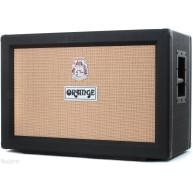 Orange Model PPC212CBK Black 2 X 12 Celestion V30 Speaker Closed Back Cabin