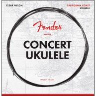 Fender California Coast Concert Ukulele Strings - Made in the USA - #073009