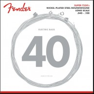 Fender 7250L Long Scale Nickel Plated Bass Strings .040 -.100  Made in USA