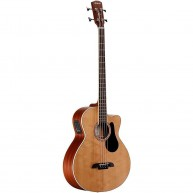 Alvarez Model AB60CE Artist Series Acoustic Electric Bass Guitar Natural Fi