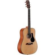 Alvarez Artist Series AD30 Dreadnought Acoustic Guitar, Natural Gloss Finis