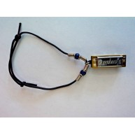Real Playable Hohner Mini Removable Harmonica Bracelet in Key of C Model 38