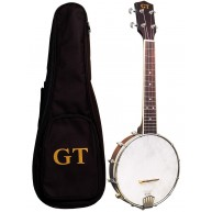 Gold Tone Open Back Banjo Uke with Built in Pickup & Gig Bag -  BU-1 Banjol