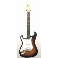 Effin Guitars model Effin Start/SB/LH Lefty Sunburst Electric Guitar
