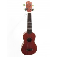 Lucky Penny LP280S Solid Mahogany Top Soprano Ukulele With HS Case -BLOWOUT