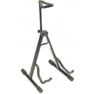 "Stagg Model SG-A008NH BK Black ""A Frame"" Guitar Stand with Locking Neck Hol"