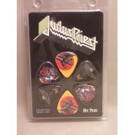 Judas Priest Officially Licensed Guitar Picks 6 Pack Hot Picks #6JUPRCS01
