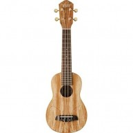 Oscar Schmidt Model OU18-R - Spalted Maple Soprano Size Ukulele - NEW