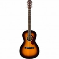 Fender CP40SE SB Solid Spruce Top Acoustic/Electric Parlor Guitar w/Hard Ca