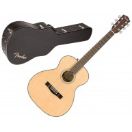 Fender CT-140SE Solid Spruce Top Acoustic Electric Travel Guitar with Hard