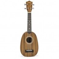 Lanikai Model MA-P Mahogany Pineapple Shape Soprano Ukulele with Gig Bag