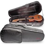 Stagg Model HGB2UK-C Concert Ukulele Nylon & Foam Zippered Hard Case w/pock