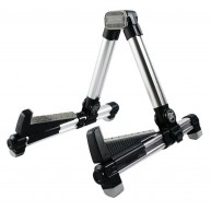 Fat Boy FBG-108SV Portable A-Frame Stand for Guitars, Mandolins, Ukuleles &