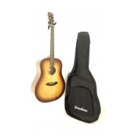 Breedlove Discovery Dreadnought SB Acoustic Guitar Solid Top w/Bag - Blem #