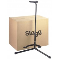 Box of 20 Stagg Model SG50BK Black Tripod Heavy Duty Stands for Guitar or B