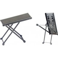 Stagg Model FOS-B1 BK Black Metal Adjustable Foot Rest for Guitar Players