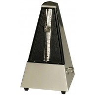Wittner 855202 Maelzel Pyramid Metronome - Light Silver, with Bell , Tradit