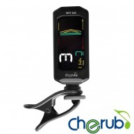 Cherub WST-620 Clip on Chromatic Tuner for Left Handed Players ! - FLIP SCR