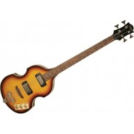 Johnson JJ-200-VS Viola Style Electric Beatle Bass Guitar in Vintage Sunbur