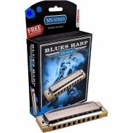 "Hohner Harmonica Blues Harp Key Of ""G"" #532BX-G GERMAN with Free Mini Harmo"