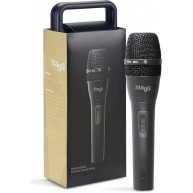 Stagg SDM80 Handheld Dynamic Cardioid Microphone with Protective Case and C