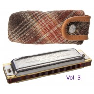 Hohner Collector's Edition Remaster Vol. 3 German Diatonic Harmonica in Key