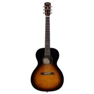 Alvarez Delta00 TSB Tobacco Sunburst Parlor Size Acoustic Guitar - V Style