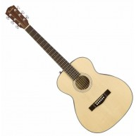 Fender CT-60S NAT Solid Spruce Top Acoustic Travel Guitar with Mahogany B a