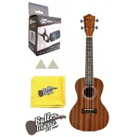 Lanikai Model MA-C Mahogany Concert Size Ukulele with Gig Bag and Tuner Bun