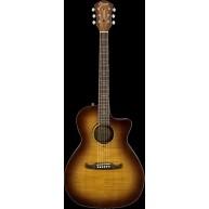 Fender Model FA-345CE Auditorium Sz. Acoustic Electric Guitar 3 tone Tea Bu