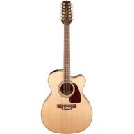 Takamine GJ72CE-12 NAT 12 String Jumbo Body Acoustic Electric Guitar Natura