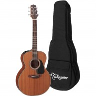 Takamine GX11ME-NS Taka-Mini 3/4 Size NEX Acoustic Electric Guitar with Gig