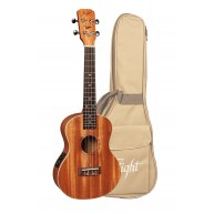Kremona Flight Series DUT 34 CEQ Tenor Mahogany Electric Ukulele with Bag