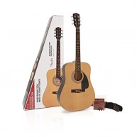 Fender FA-115 Full Size Dreadnought Spruce Top Acoustic Guitar Package - ON