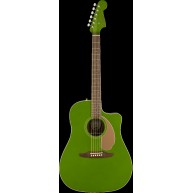 Fender Redondo Player Model Electric Acoustic Guitar in Electric Jade - AWE