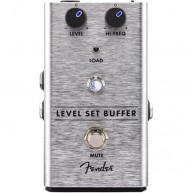 Genuine FENDER™  Level Set Buffer Pedal , Solid Aluminum Stomp Box  #023453