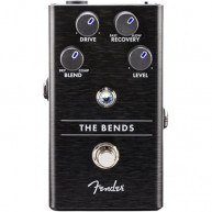 Genuine FENDER™ The Bends Compressor Pedal , Solid Aluminum Stomp Box 02345