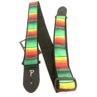 "2"" Jacquard Adjustable Guitar Strap From Perri's -  Made in Canada #TWS-CO3"