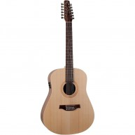 Seagull Walnut 12 Isys T 12-String Acoustic Electric Dreadnought Guitar 039