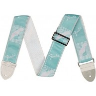 "Fender 2"" Monogrammed Adjustable Guitar Strap Daphne Blue #0990627004"
