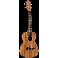 Oscar Schmidt Model OU320 Ukulele - 4 String Concert Size Zebra Wood Uke